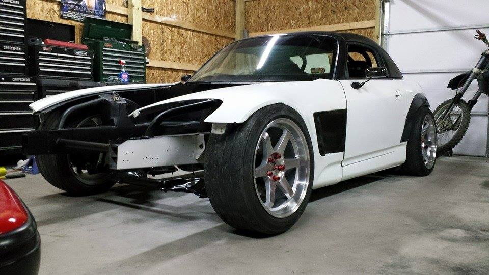 Honda S2000 With A Nissan RB25DET