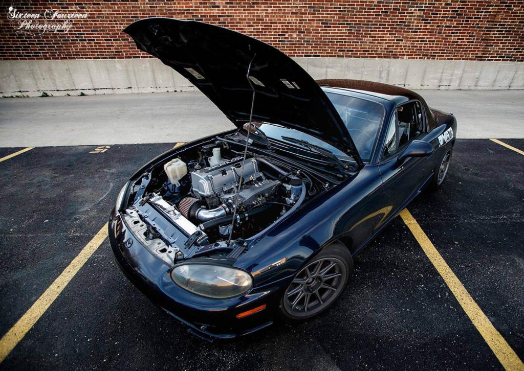 Honda K-Series Into Mazda Miata Swap Kit – Engine Swap Depot