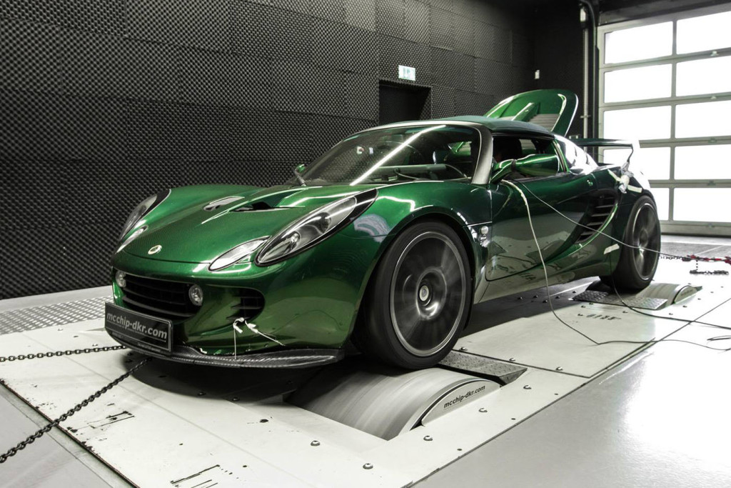 Lotus Exige With A Golf Mk5 GTI Engine