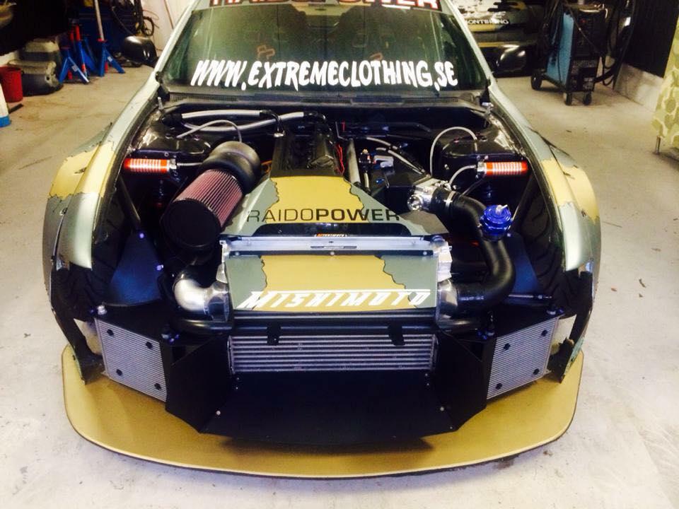 Nissan S14 With A BMW M104 inline-six engine