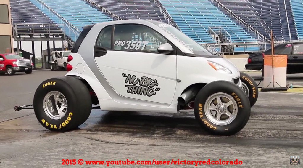 Nu Big Thing Smart ForTwo with big-block Chevy V8