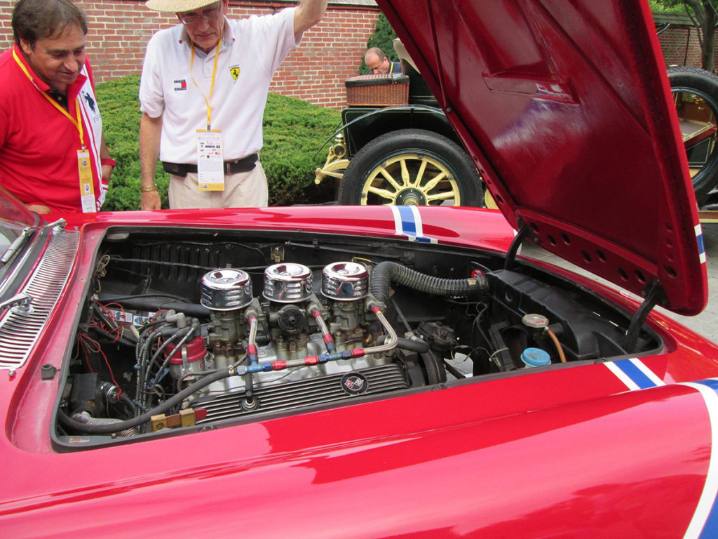 Randy Cook Ferrari with Chevy V8