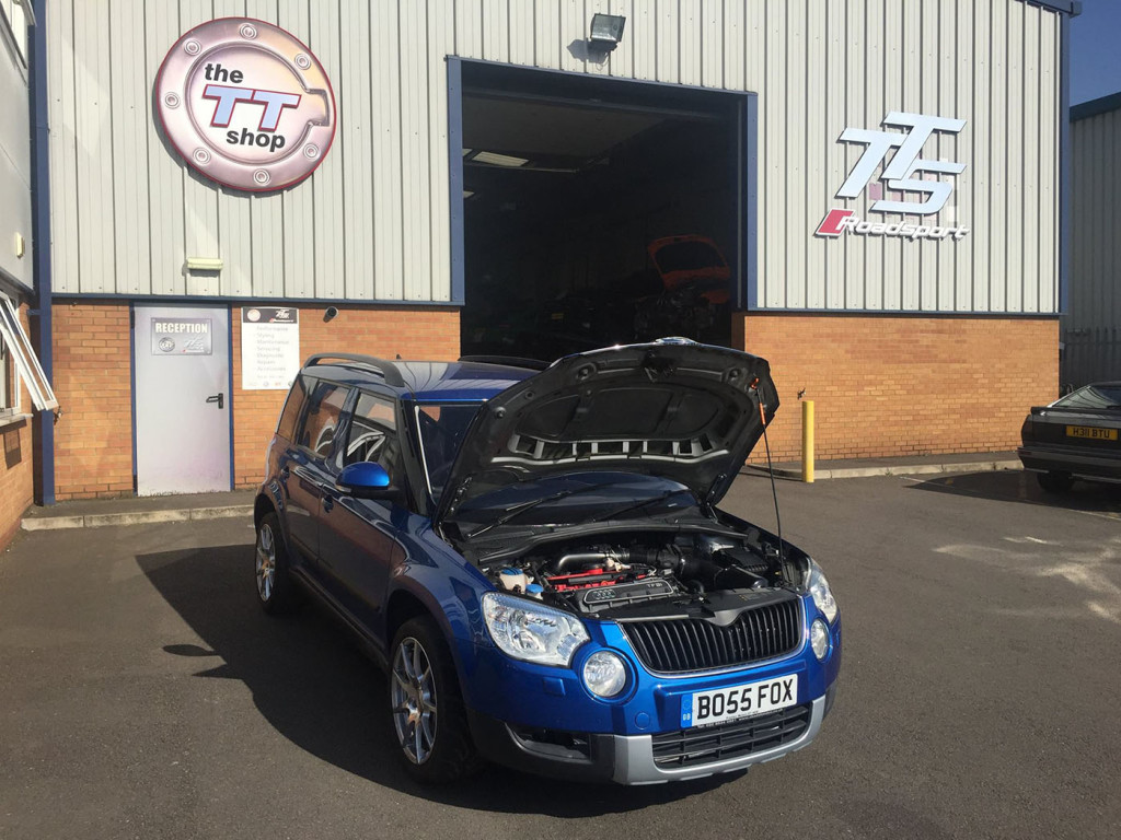 Skoda Yeti With Audi TT-RS Power – Engine Swap Depot