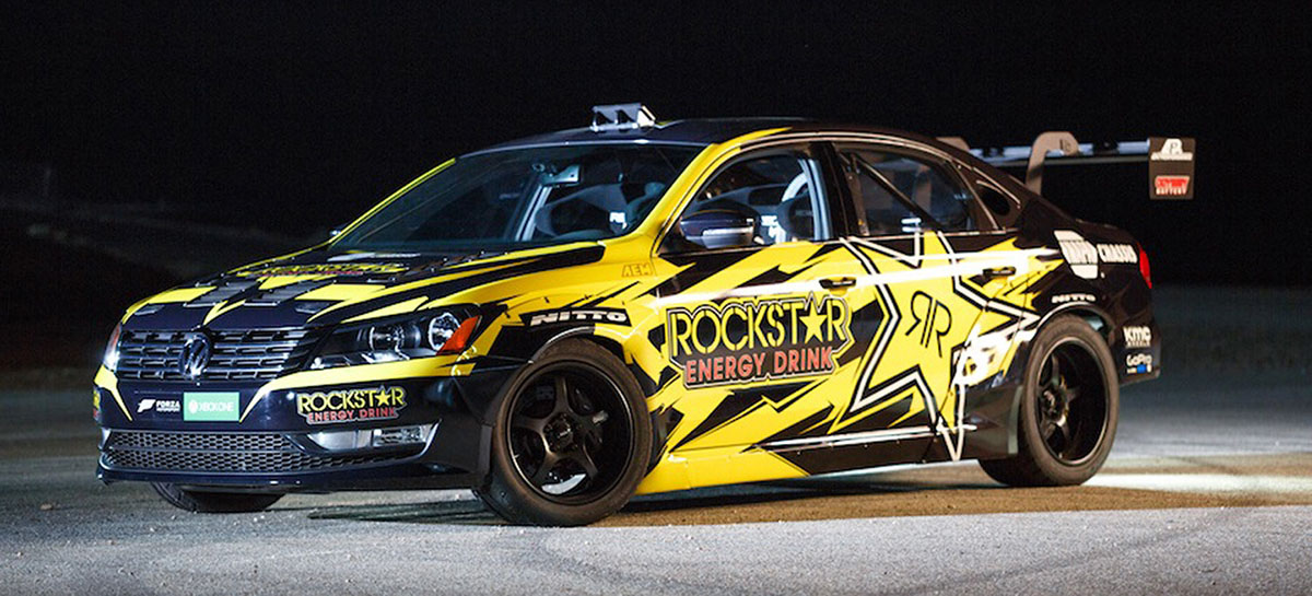 Tanner Foust's VW Passat With A 900 HP LS7