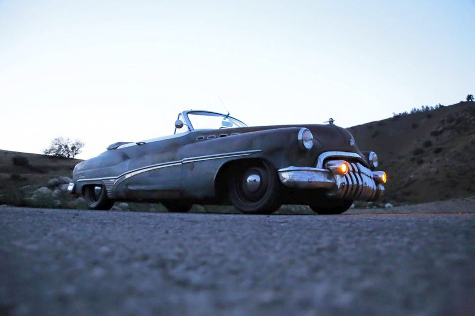 1950 Buick Roadmaster ICON Derelict with a LS7 V8