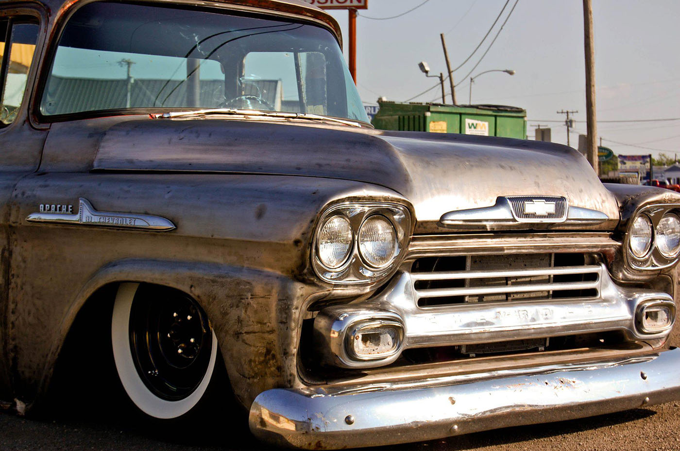 1958 Chevy Truck With A Twin Turbo Ls1 Engine Swap Depot