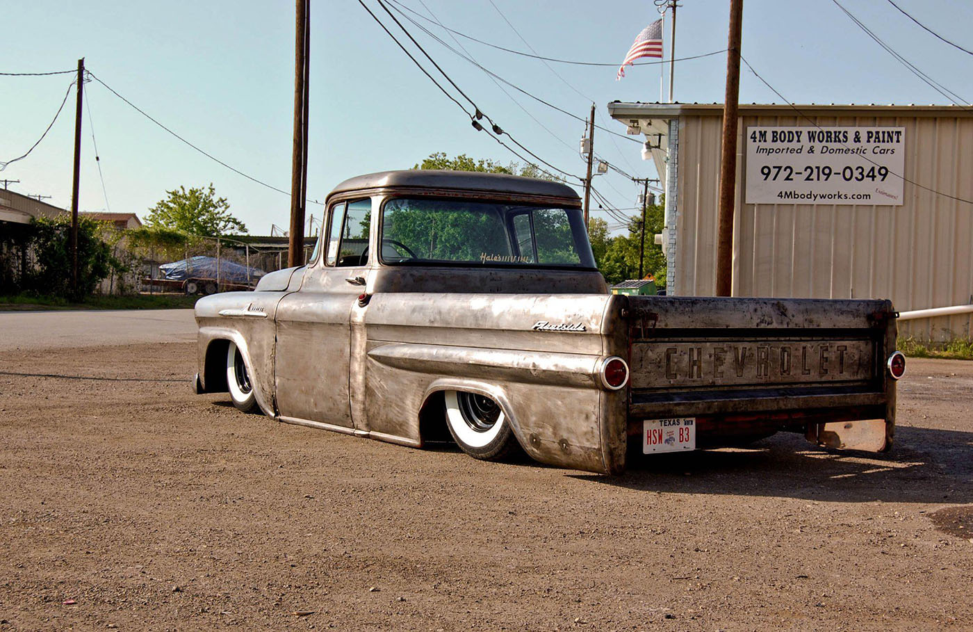 1958 Chevy Truck With A Twin turbo LS1 ndash Engine Swap Depot