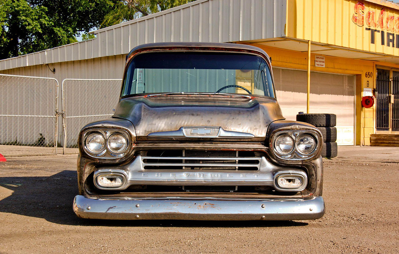 56 chevy wiring harness 1958    chevy    truck with a twin turbo ls1     engine swap depot  1958    chevy    truck with a twin turbo ls1     engine swap depot