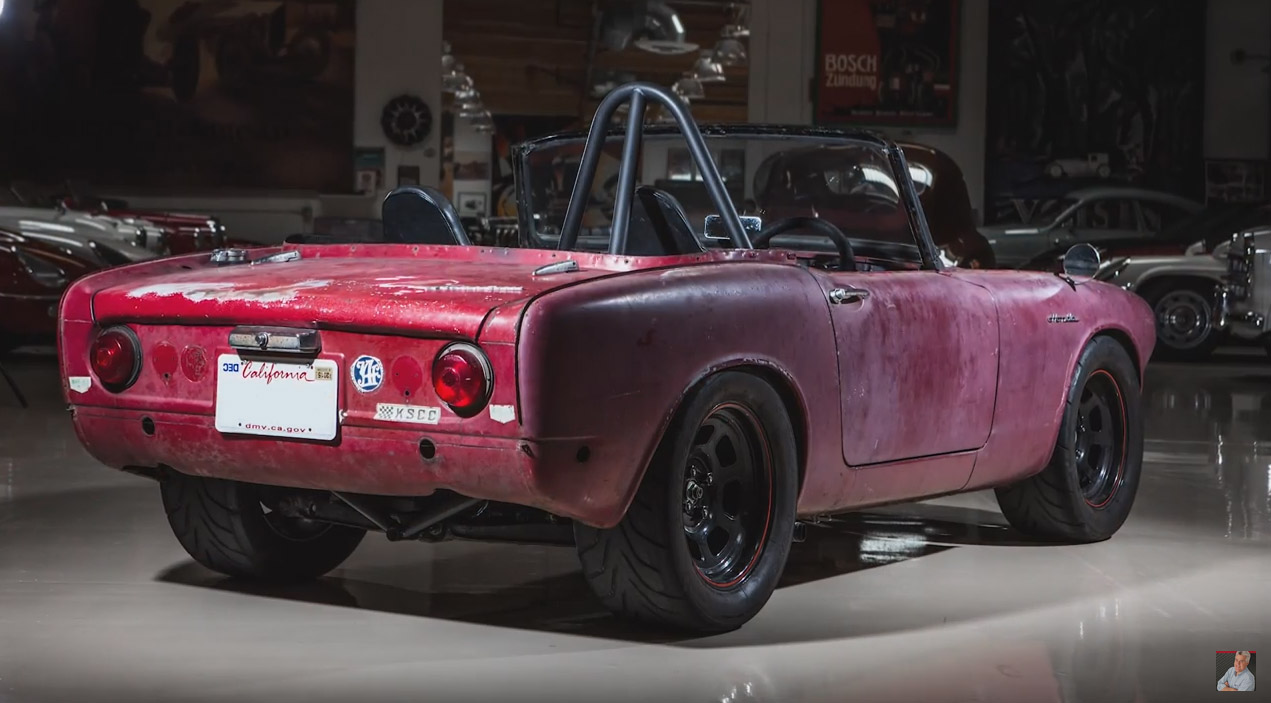 Jay Leno Drives A 1964 Honda S600 With A Cbr1000rr Motorcycle Engine