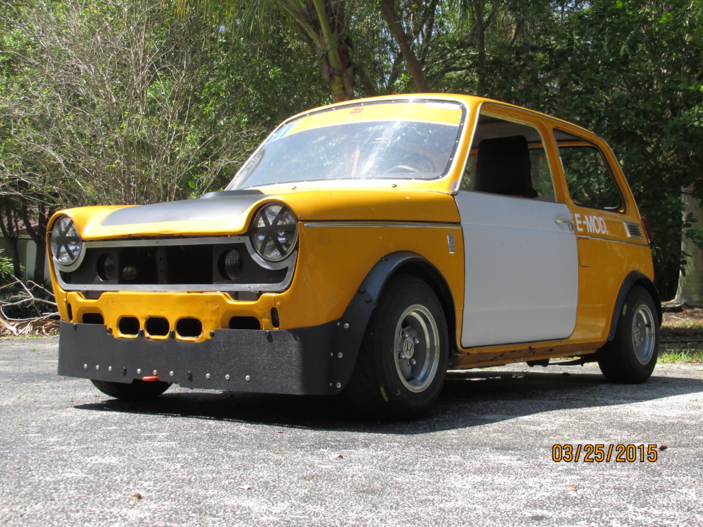 1972 Honda N600 With A Suzuki GSX-R1000 Inline-four