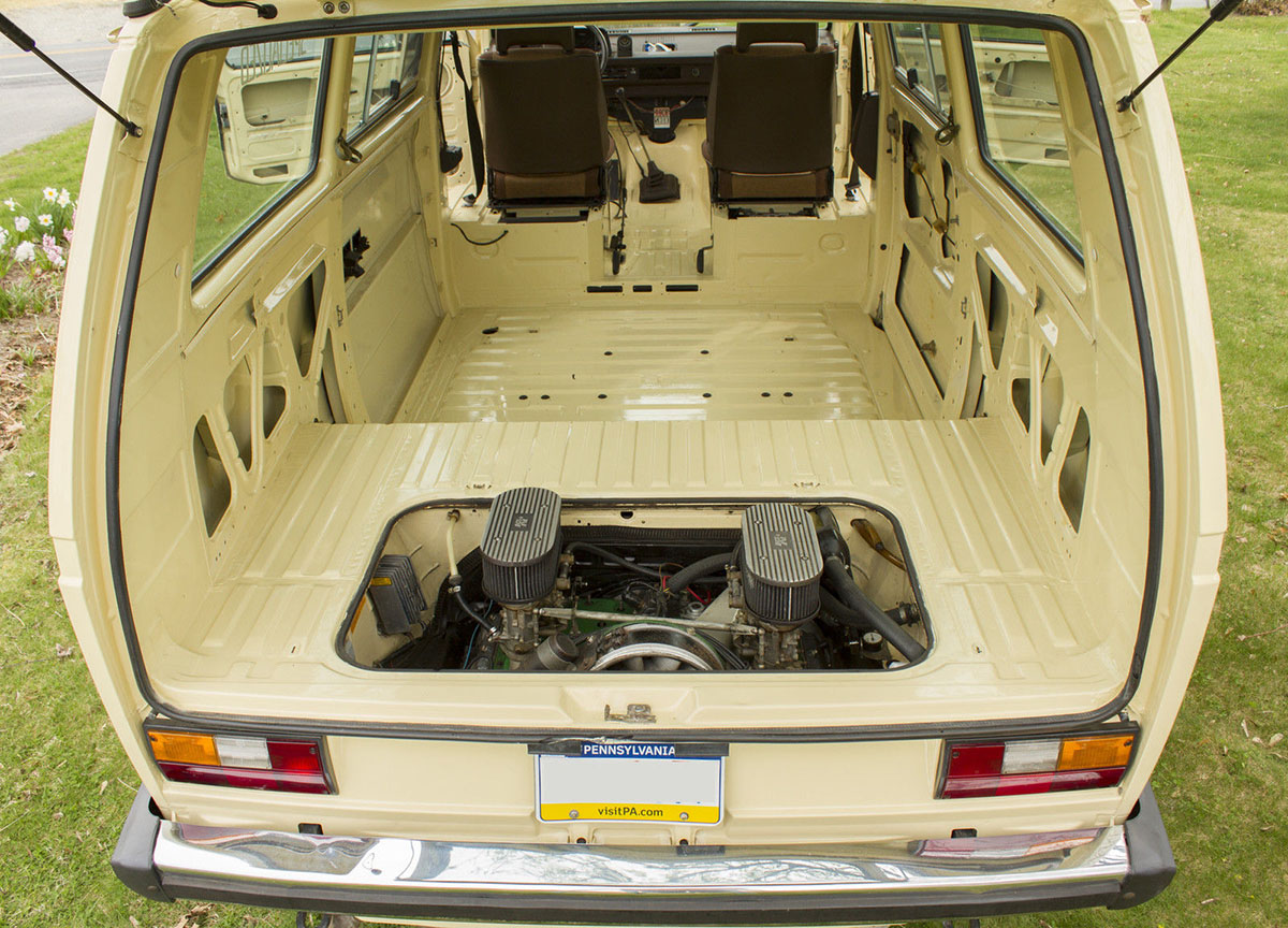 For Sale 1980 Vw Bus With A Porsche 911e Engine Engine
