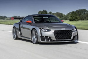 Audi TT Clubsport Concept With A 2.5 L TFSI inline-five