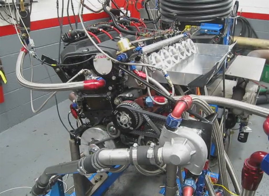 Roush Engines testing Mercedes inline-six engine for Bob Sirna's SL300