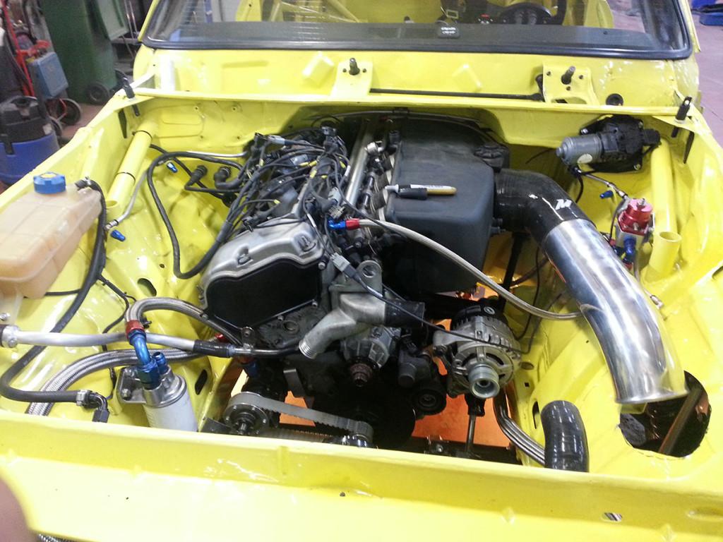 Heikki Mattila's 1969 Opel Commodore With A BMW S54B32 Engine