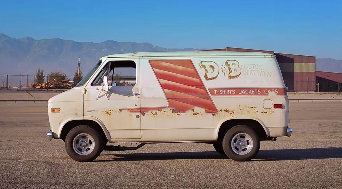 Hot Rod Garage's 630 HP LS7 Powered Chevy Van Project