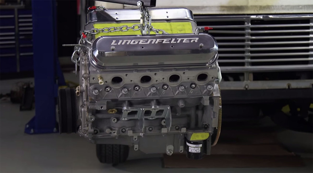 630 horsepower Lingenfelter LS7 engine going into Hot Rod Garage Chevy Van Project