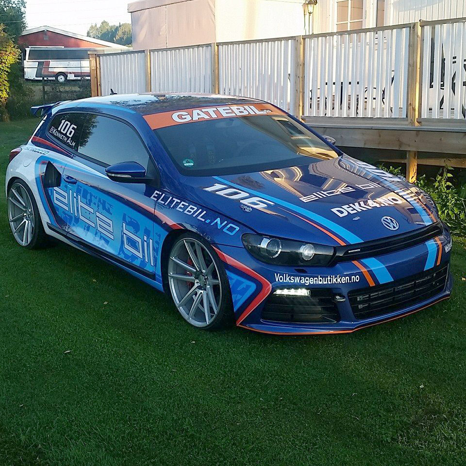 Vw Scirocco With An 800 Horsepower Audi Powertrain