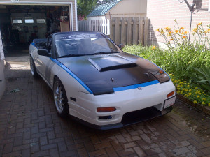 Nissan 240SX With A Ford 302