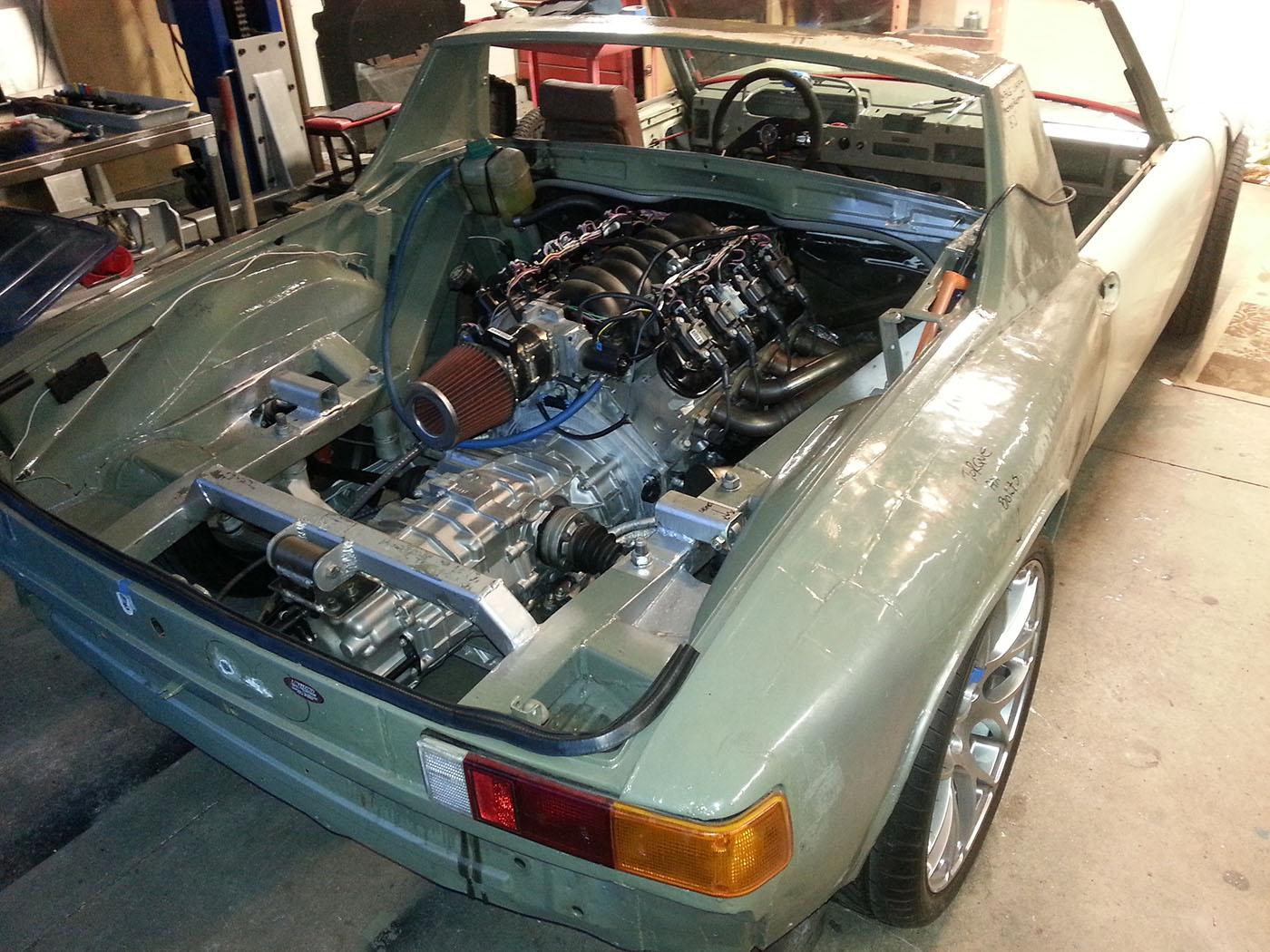 Building A Porsche 914 With A LS6 – Engine Swap Depot