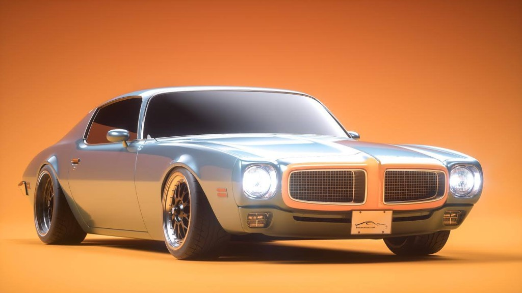 Pro-touring 1976 Pontiac Firebird with a 400 ci V8