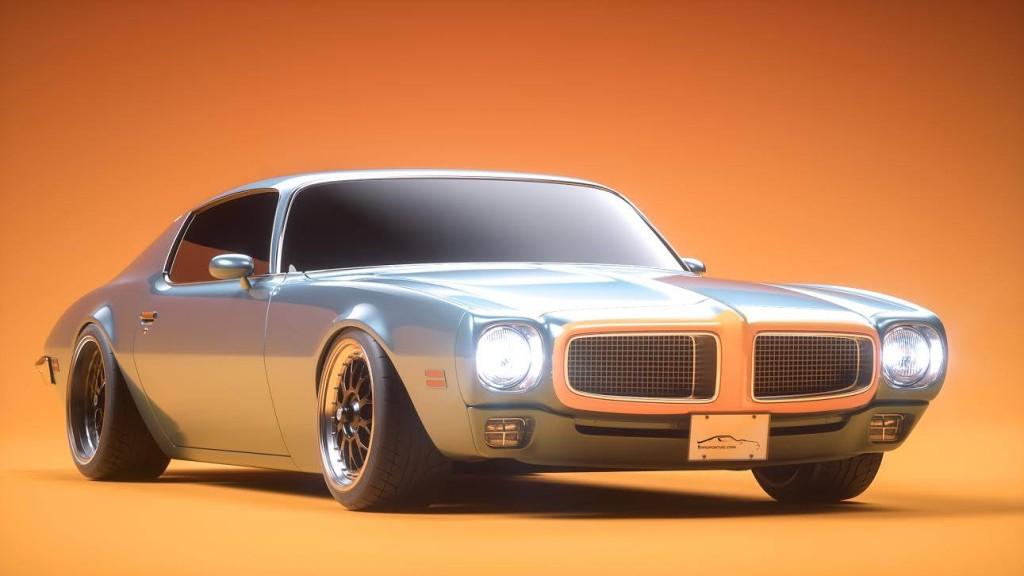 Pro-touring 1976 Pontiac Firebird with a 400 ci V8