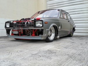 Toyota Starlet With A 1,250 Horsepower 3S-GTE