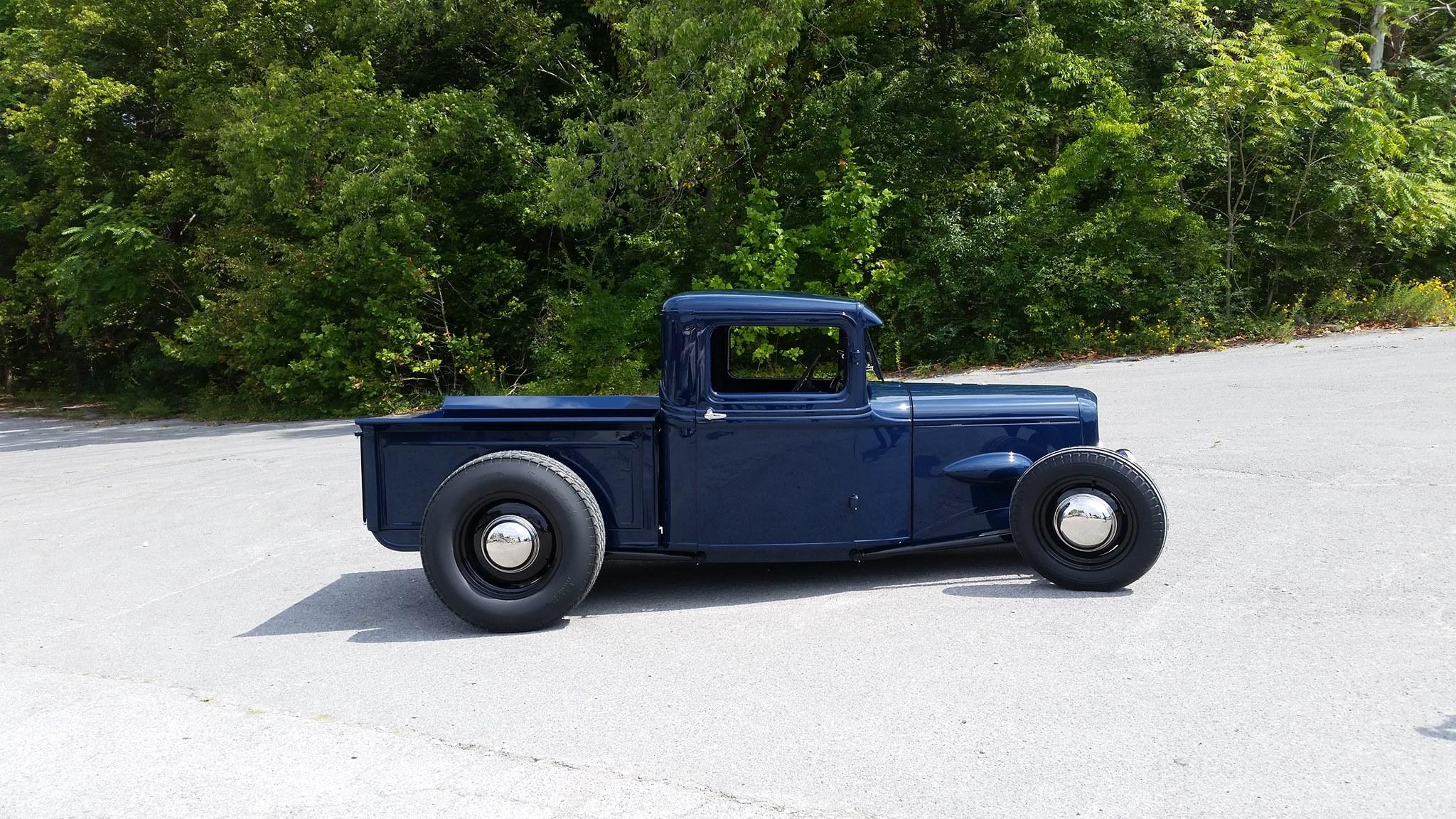 1934 Mercury Pickup With A 1949 V8 Engine Swap Depot 1941 Flathead