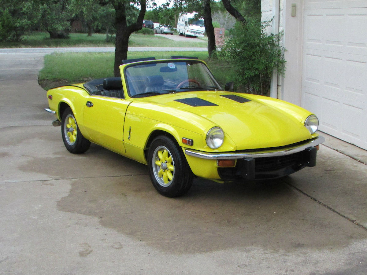for sale 1979 triumph spitfire with a 12a rotary engine swap depot. Black Bedroom Furniture Sets. Home Design Ideas