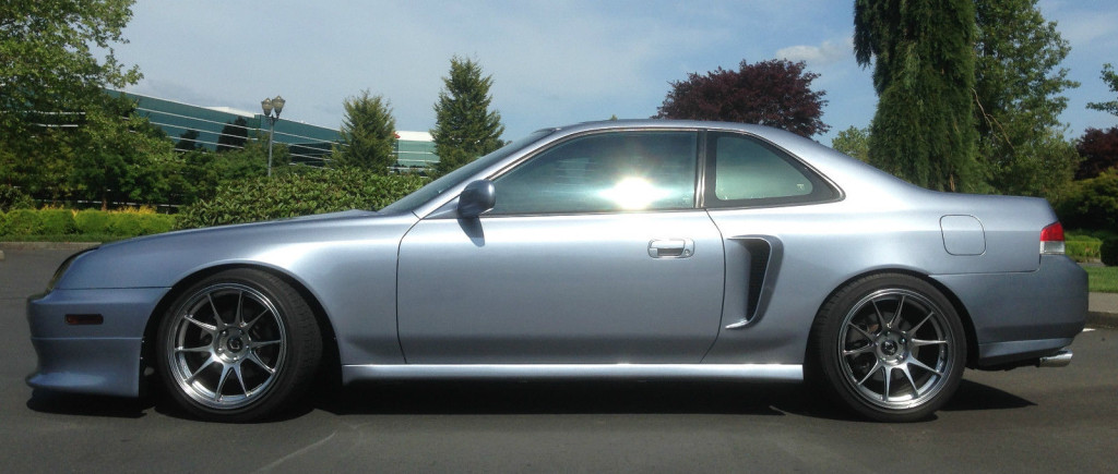 2000 Honda Prelude with twin H22A4 engines