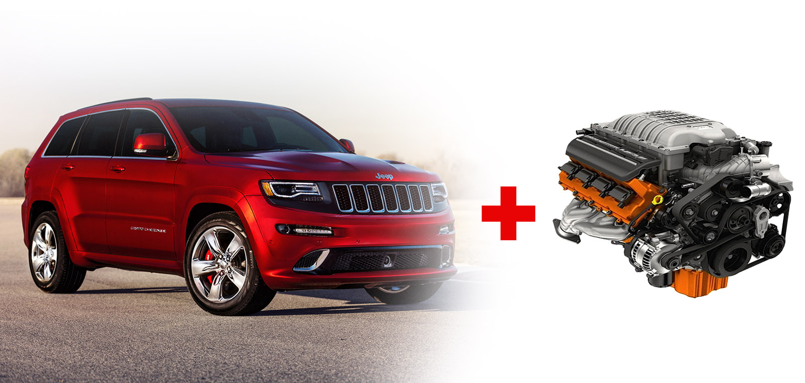 Car Driver Is Reporting Jeep Will Stuff A Hellcat V8 Into The 2017 Grand Cherokee It Costs Around 65 000 And When Paired With Awd