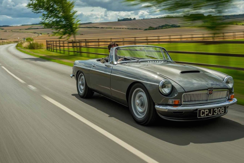 Frontline Developments MGB With Mazda EnginesFrontline Developments MGB With Mazda Engines