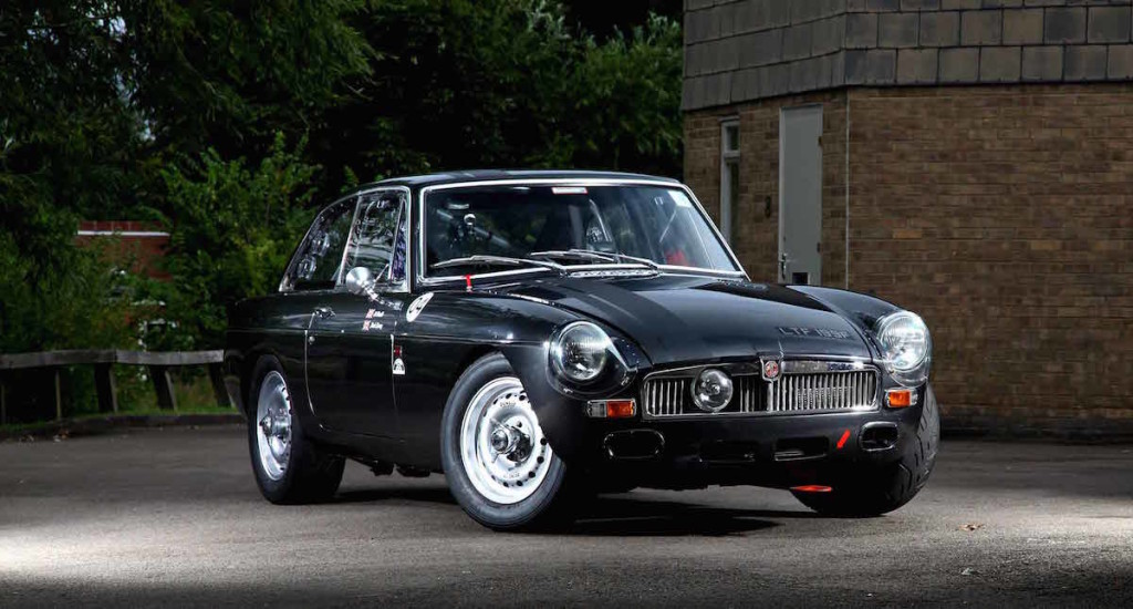 Frontline Developments MGB With Mazda Engines