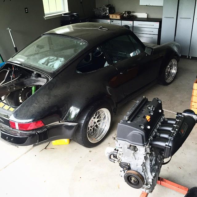Building a Honda Powered Porsche 911 – Engine Swap Depot