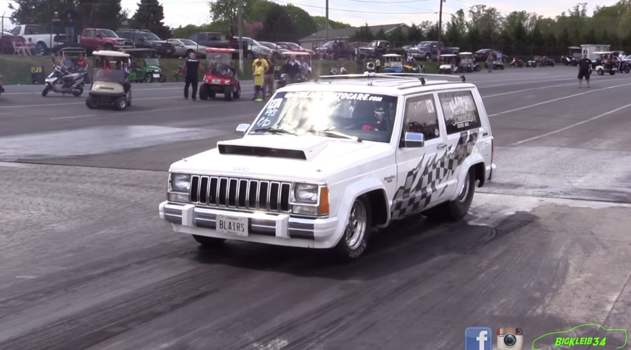 1986 Jeep Cherokee With A 505 ci Chrysler V8 – Engine Swap Depot