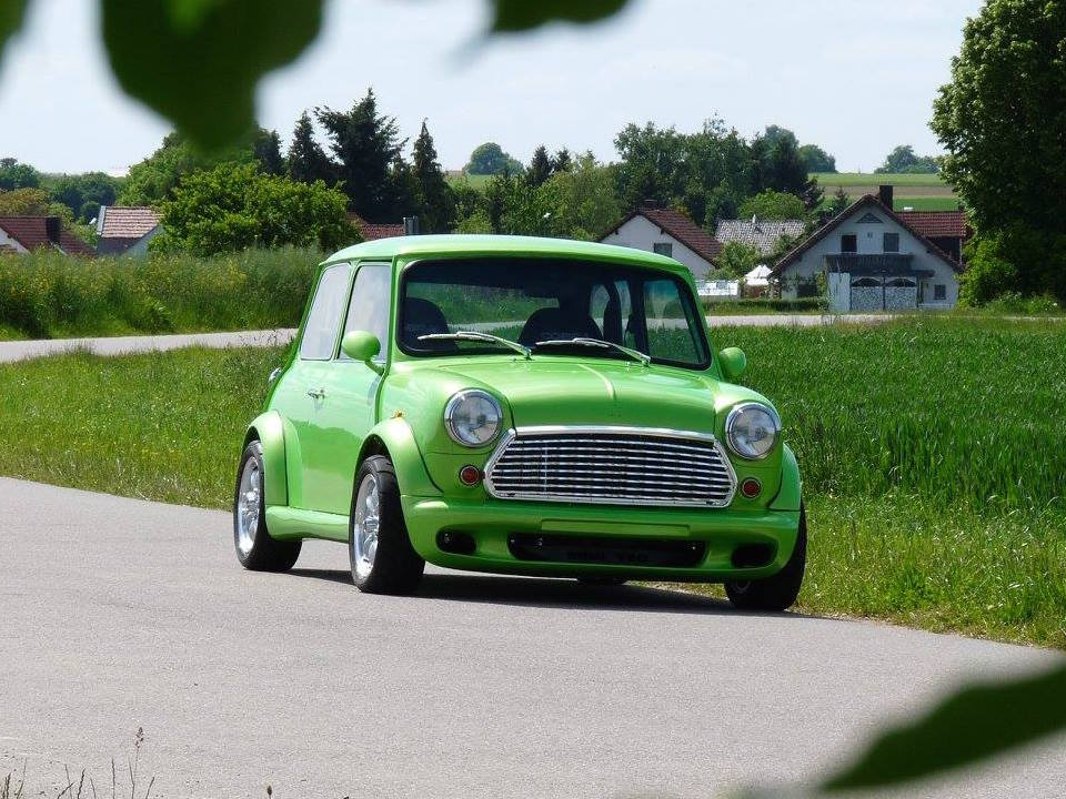 Mini With A Honda B18C