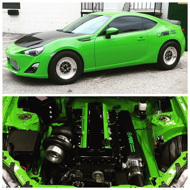 Scion Fr S With A 2jz Engine Swap Depot