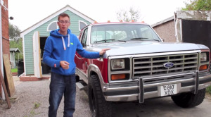 Seventh-generation Ford F-250 with Mercedes OM606 diesel