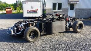 Turbo Dynamics Twin-engine race car
