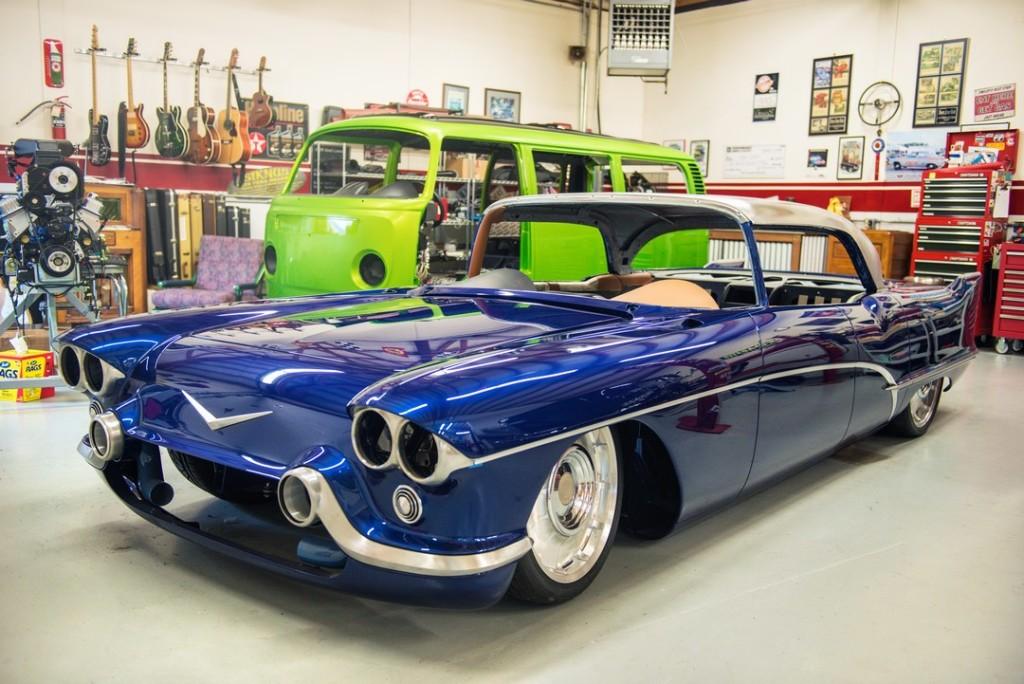 1957 Cadillac Eldorado With A 1000 Hp Diesel V8 Engine Swap Depot