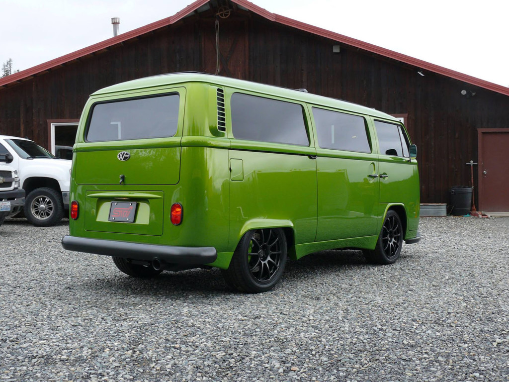 Divers Street Rods 1972 VW Bus with a Subaru EJ25
