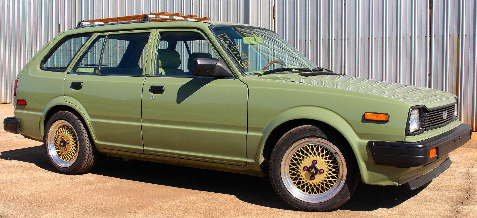 For Sale 1983 Honda Civic Wagon With A B18b Engine Swap