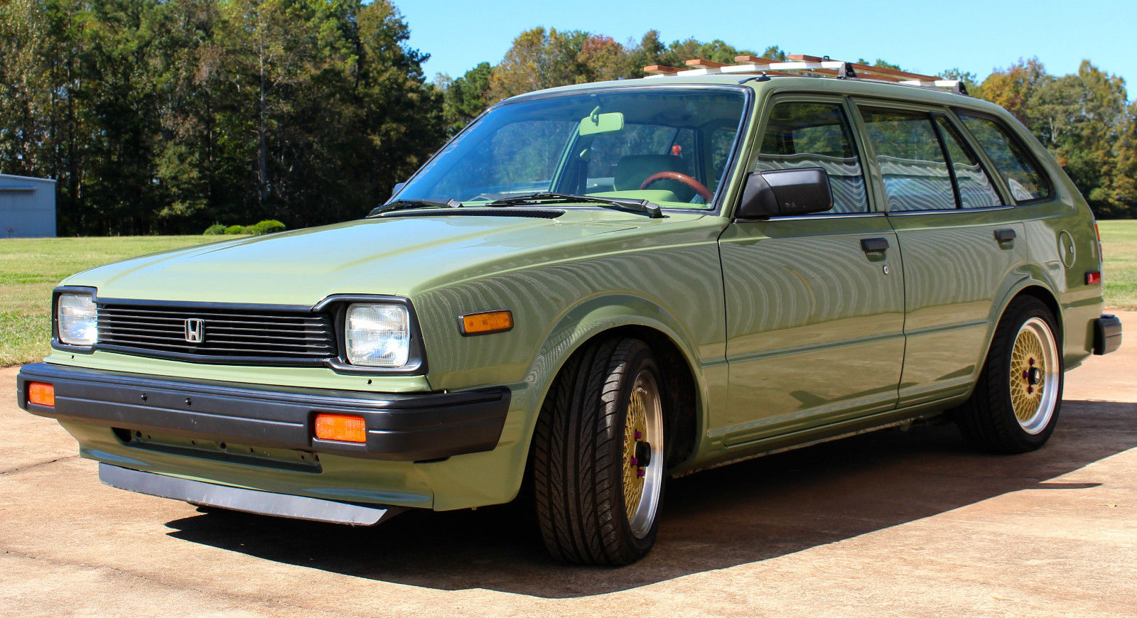For Sale: 1983 Honda Civic Wagon with a B18b – Engine Swap Depot