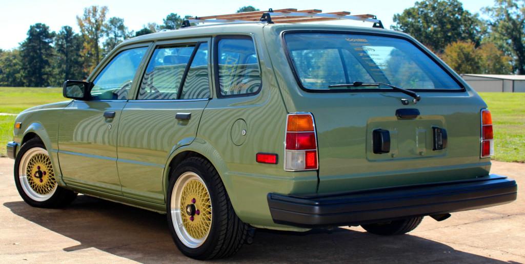Rutledge Wood 1983 Honda Civic Wagon with a B18b