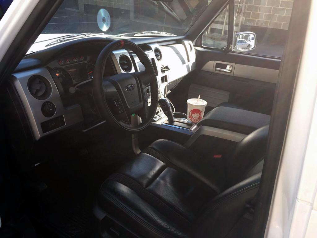 Ford SVT Raptor interior inside 1993 Ford Bronco