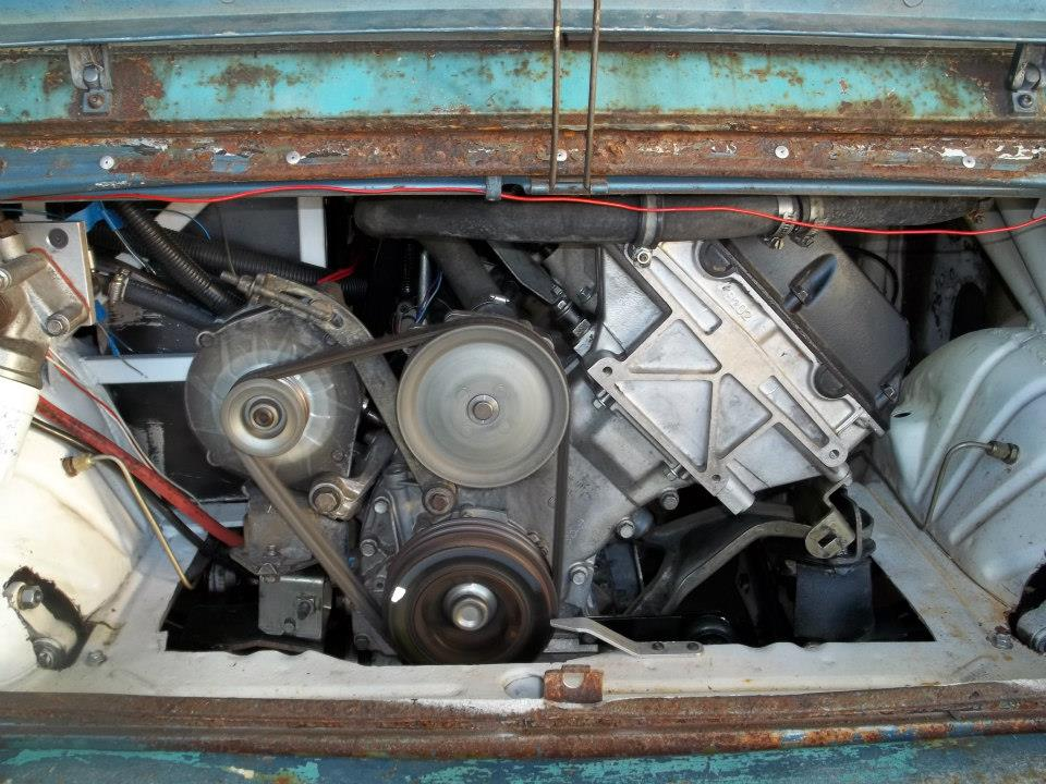 Honda N600 with turbocharged 2.3 L Saab B234 inline-four