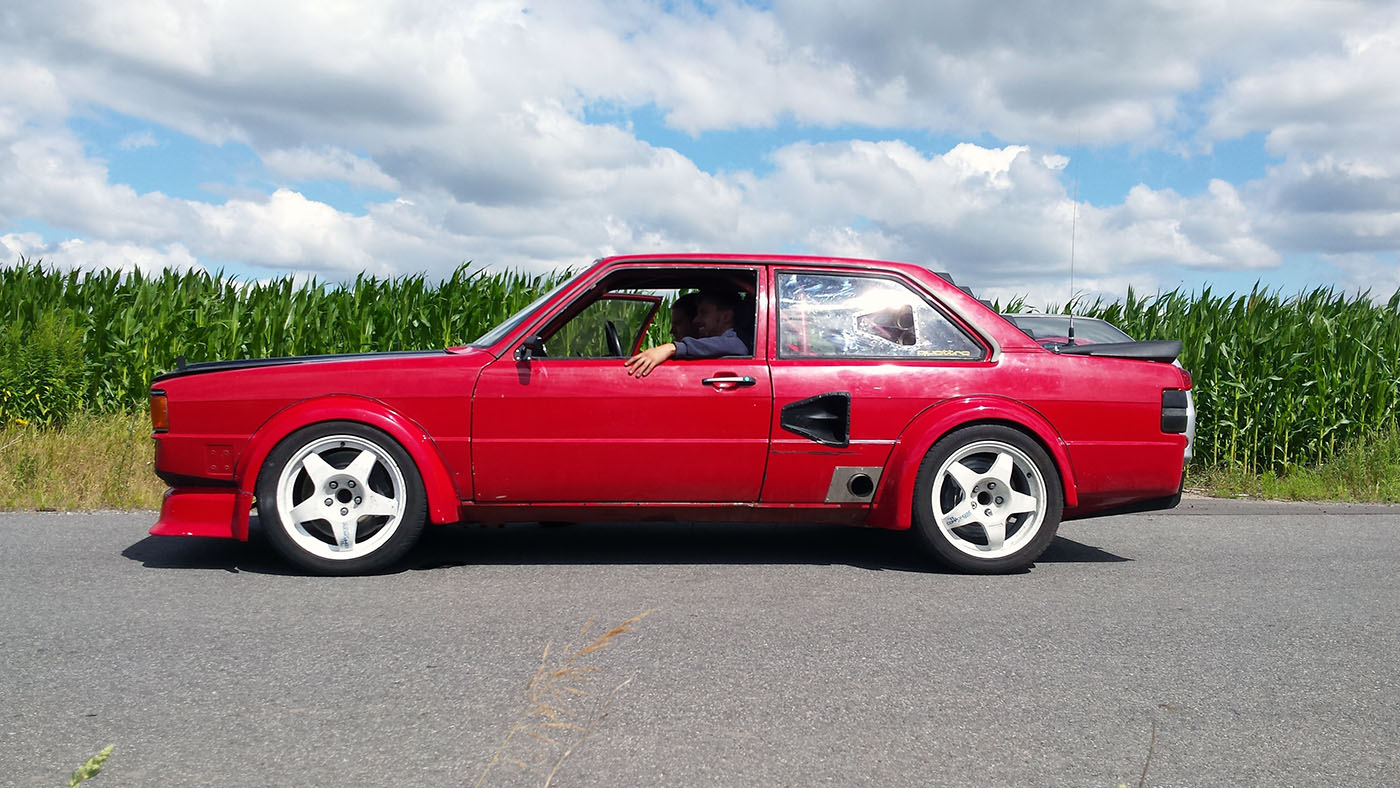 audi 80 b2 with a vw vr6 engine swap depot. Black Bedroom Furniture Sets. Home Design Ideas