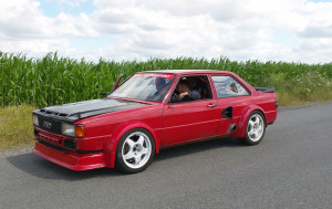 Audi 80 B2 with a VW VR6
