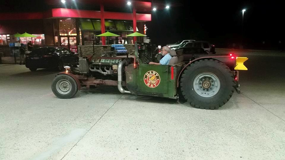 Dady Rat - A rat rod with 19.0 L Deutz 513 twin-turbo diesel V12