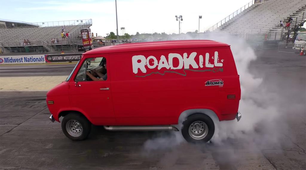 Hot Rod Garage 630 HP LS7 Powered Chevy Van Project