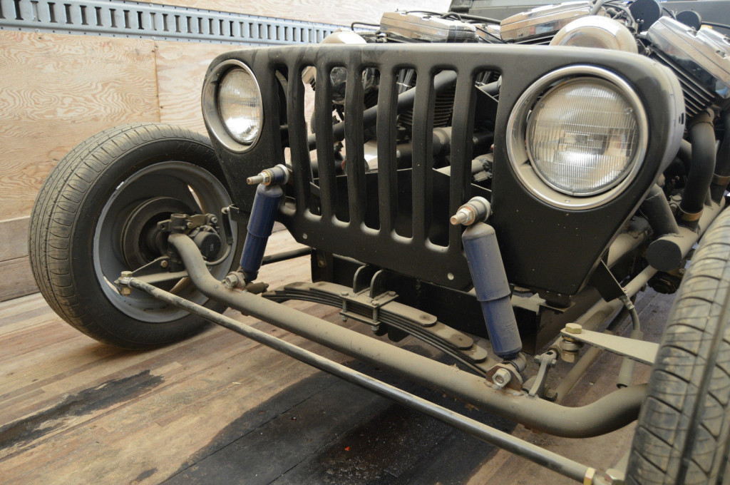 Jeep With Four Harley Motorcycle V-twin Engines